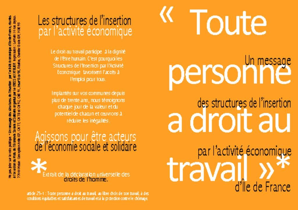 thumbnail of Tract 2011 Premier journée de l'IAE