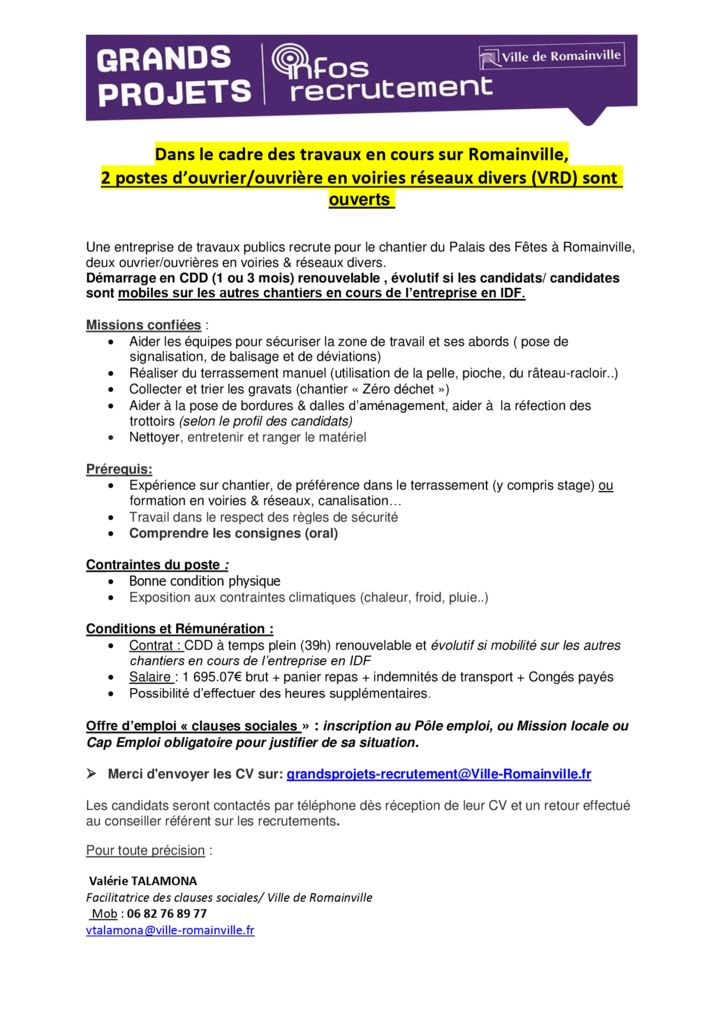Romainville_offre-clauses_ouvriers-VRD