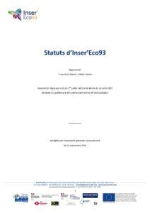 thumbnail of Inser'Eco93 – Statuts v20211001