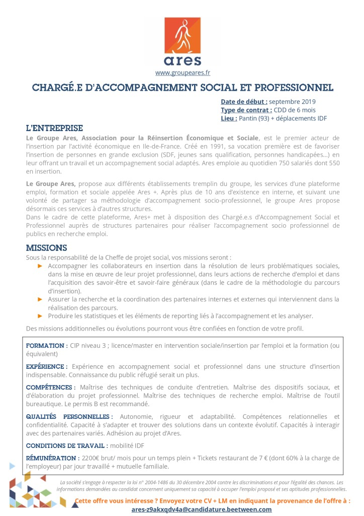 Annonce_FP Ares+_CASP_CDD (1)