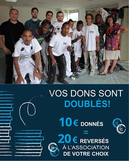 Appel à dons pour réhabiliter les «Logements Passerelles» mis en place par Inser'Eco93 et A.L.J. La Courneuve pour les salarié.e.s en insertion des SIAE