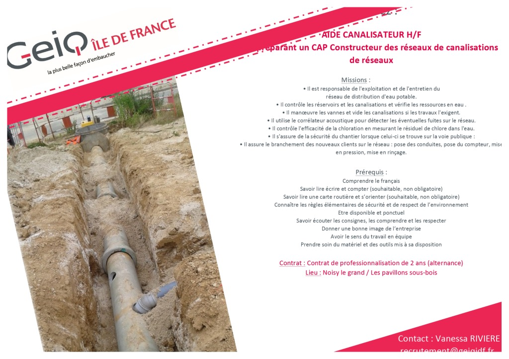 AIDE CANALISATEUR