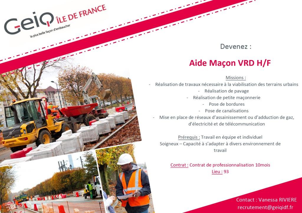 Aide Macon VRD