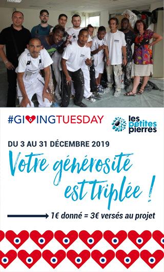Jusqu'au 31 décembre vos dons sont triplés pour réhabiliter les «Logements Passerelles» mis en place par Inser'Eco93 et A.L.J. La Courneuve pour les salarié.e.s en insertion des SIAE