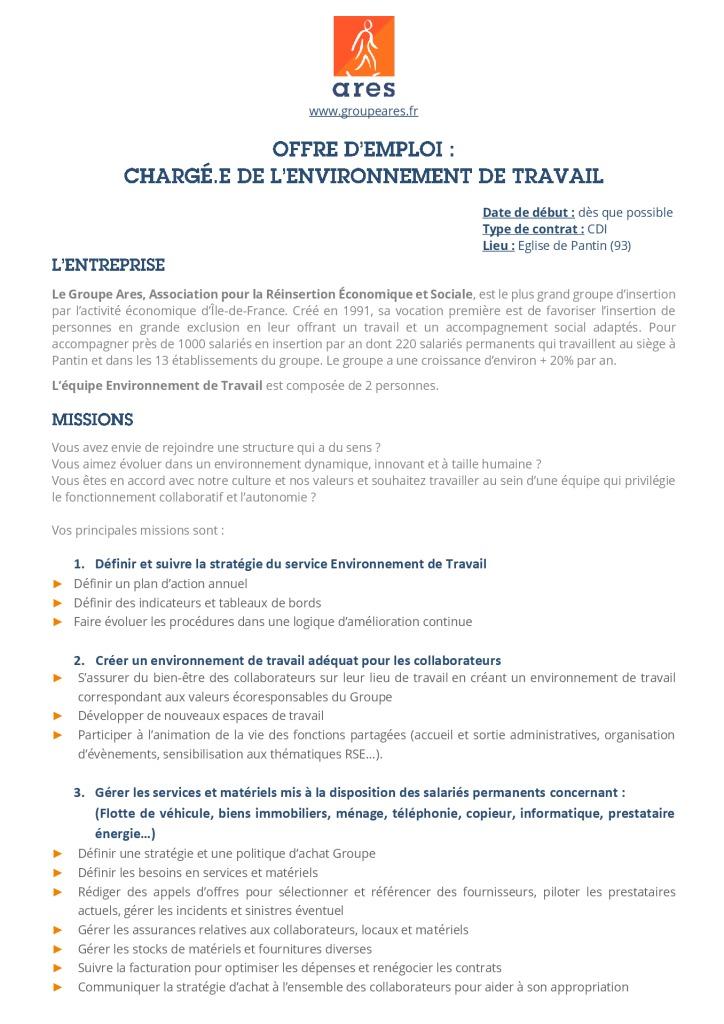 Annonce_Siège_Chargé.e de ET CDI 2020