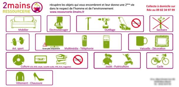 La Ressourcerie 2mains collecte à présent sur l'ensemble du territoire de Paris Terres d'Envol