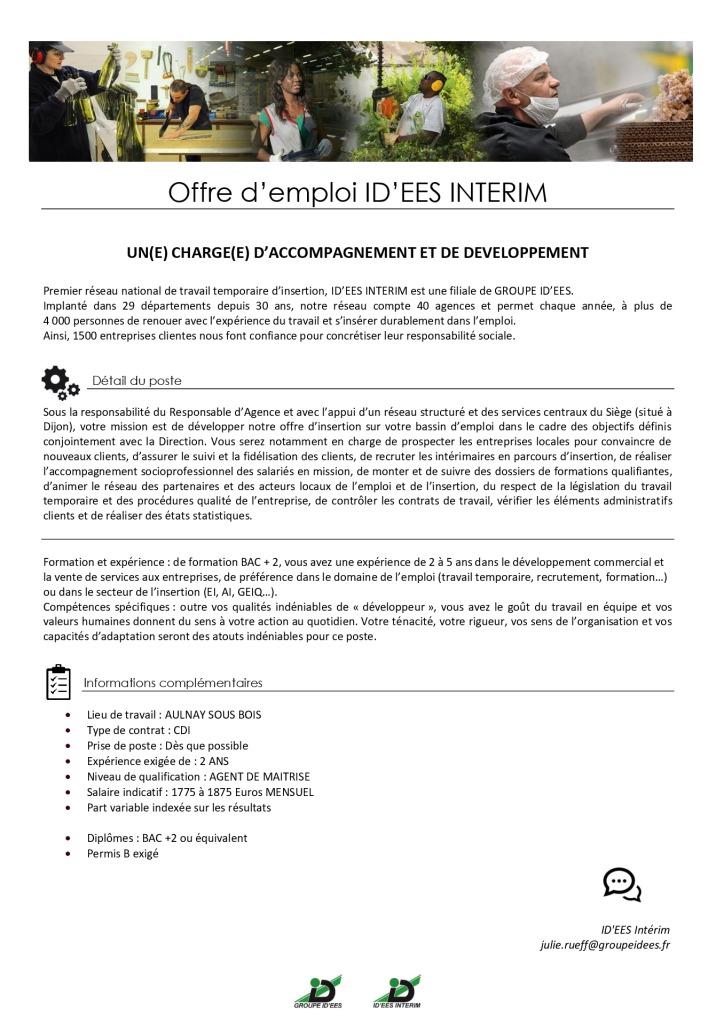 IDEES-INTERIM-Offre-demploi-CHARGEE-D'ACCOMPAGNEMENT-ET-DE-DEVELOPPEMENT