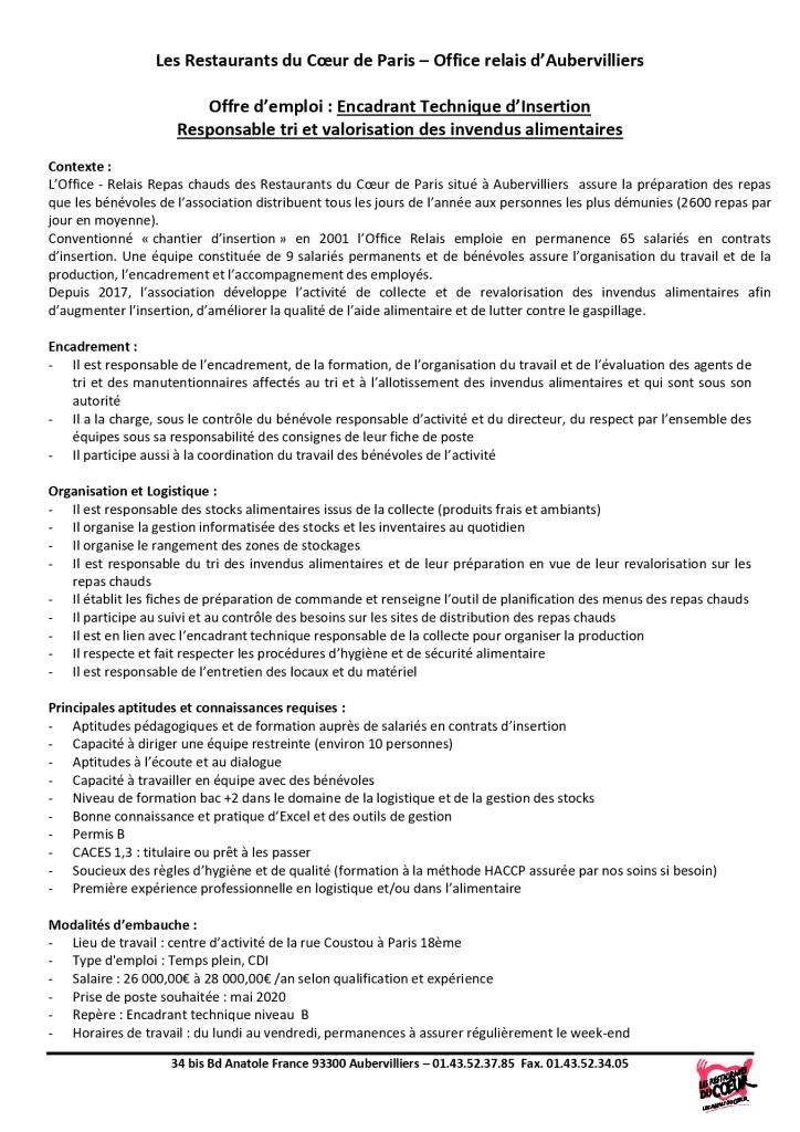 Offre emploi 2020_ETI Ramasse