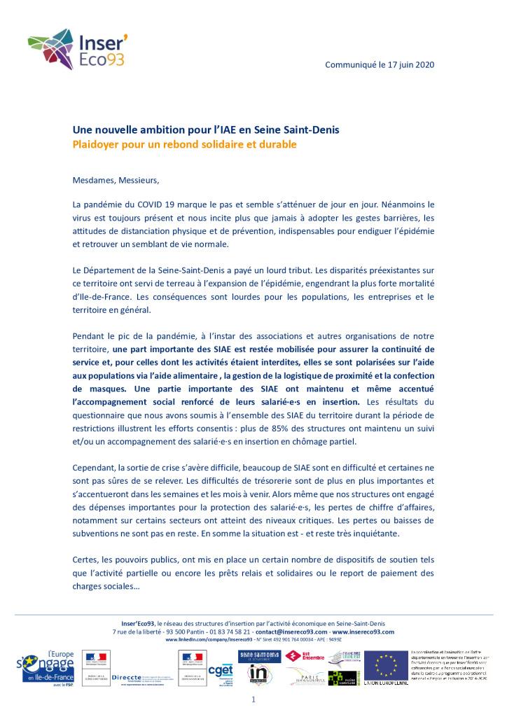 thumbnail of Une nouvelle ambition pour l'IAE en Seine Saint-Denis